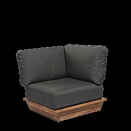 Módulo de angulo Lounge gris