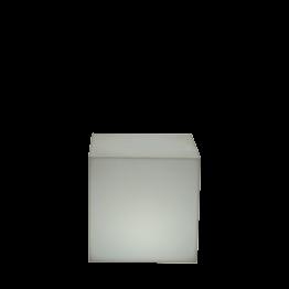 Puff luminoso autonomo 40 x 40 x 40 cm