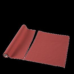 Set de mesa/servilleta tela teja 48x32 cm (por 12)