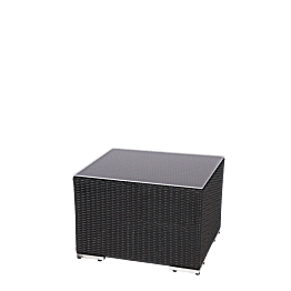 Mesa baja rectangular chill-out 65 x 55 x 40 cm