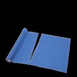 Set de mesa/servilleta tela azul 48 x 32 cm (por 12)