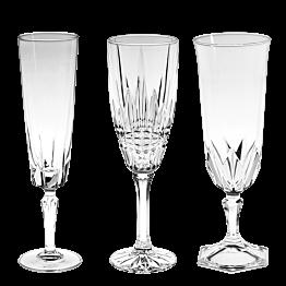 Copa de cava Vintage cristal