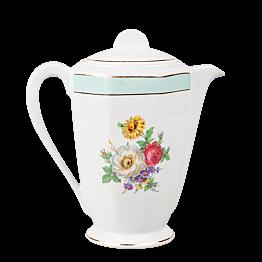 Tetera Vintage con flores