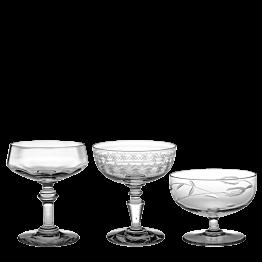 Copa de champagne Vintage cristal