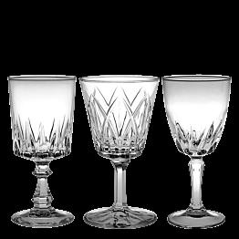 Copa de agua Vintage cristal