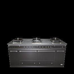 Buffet plegable Piano de cocina chafing dish 100 x 200 cm