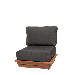 Fauteuil Lounge Grey