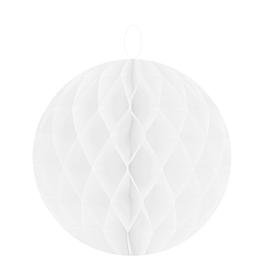 Bola decorativa blanca Ø 10 cm (lote de 2)