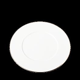 Plato llano Plano Ribete oro Ø 27 cm
