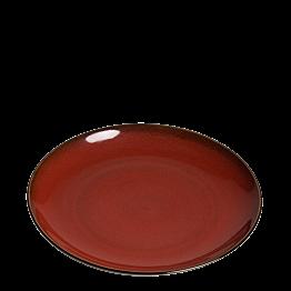 Plato Corfou rojo Ø 26 cm