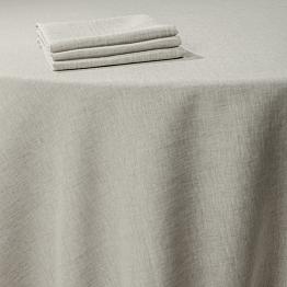 Pasillo de mesa lino tramado 50 x 270 cm
