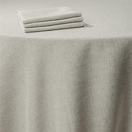 Mantel lino tramado 210 x 210 cm