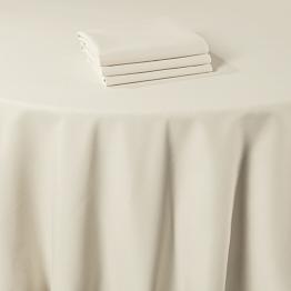Servilleta de mesa Marjorie beige 50 x 50 cm