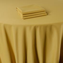 Servilleta de mesa Marjorie amarillo 50 x 50 cm