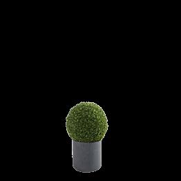 Bola de boj artificial  Ø 60 cm con tiesto