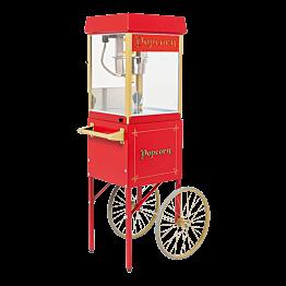 Máquina de Pop Corn sobre carrito 56 x 42 cm Alt. 156 cm