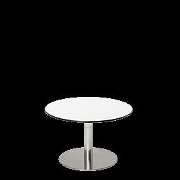 Mesa baja Hobby blanca Ø 60 cm Alt. 40 cm