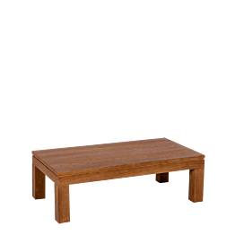 Mesa baja madera 110 x 60 cm Alt. 35 cm