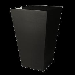 Mesa cóctel alta Cono negra con sobre negro