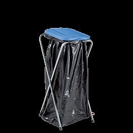 Base de bolsa de basura con tapa