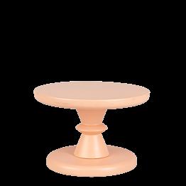 Pequeña bandeja con pie Melocotón Pop's Ø 15 cm alt 10,5 cm.
