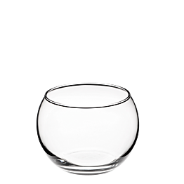 Bol Acuario en cristal Ø 9 cm Alt 7,5 cm 50 cl