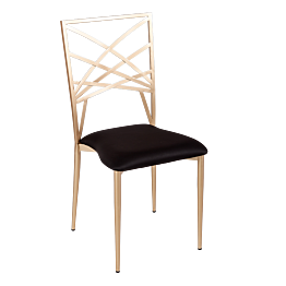 Silla Beverly asiento negro