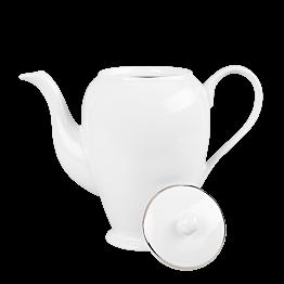 Cafetière blanche filet Argent 140 cl