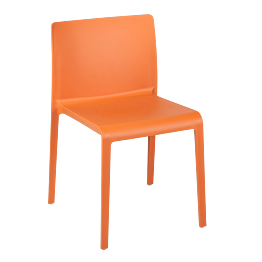 Silla Sila naranja