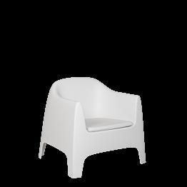 Sillón Lalisse blanco 89 x 84 x 122 cm