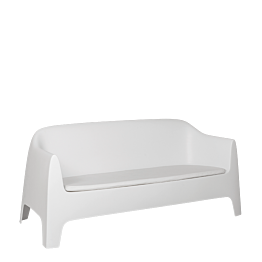Sofá Lalisse blanco 84 x 82 x 183 cm