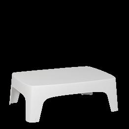 Mesa baja Lalisse blanca 73 x 106 cm H 35 cm