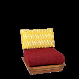 Sillón Lounge Katmandou 76 x 76 cm H 70 cm