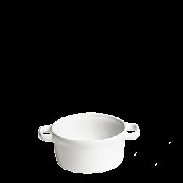 Olla individual blanca  Ø 10 cm 25 cl
