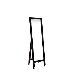 Espejo costura negro Alt 160 cm A 45 cm.