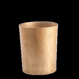 Portavela dorada Aman Ø 8,5 cm Alt. 9,5 cm