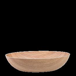 Cesta de madera ovalado Vigo 36 x 24cm – Alt. 8,5 cm