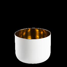 Portavela Day Gold Ø 7,5 cm – Alt. 6 cm