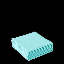 Servilletas de cóctel azul cielo 20 x 20 cm (30 u.)