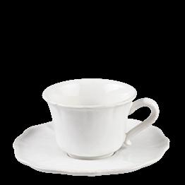 Taza y plato de té Romance 20 cl