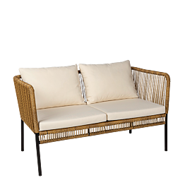 Sofa ratan Terraza 126x68 cm H 70 cm