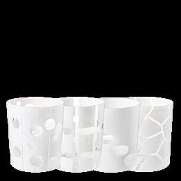 Vaso Mélodie blanco Ø 8 cm Alt. 9 cm