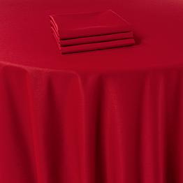 Manteles Marjorie rojo