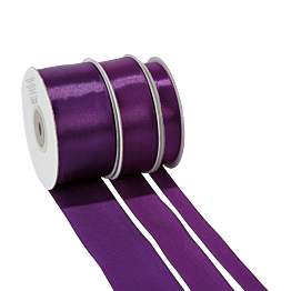 Cinta de satén violeta
